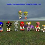 Sonic The Hedgehog Characters